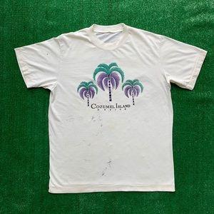 Vintage 90s Cozumel Island Single Stitched Shirt
